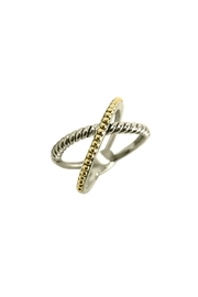Embellish Crossover 2-Tone Ring - Product Mini Image