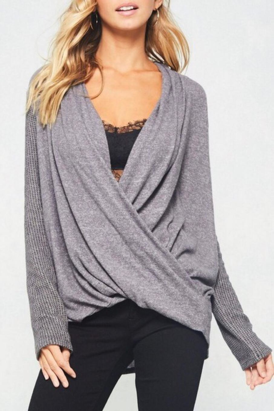 LuLu's Boutique Crossover Top - Main Image