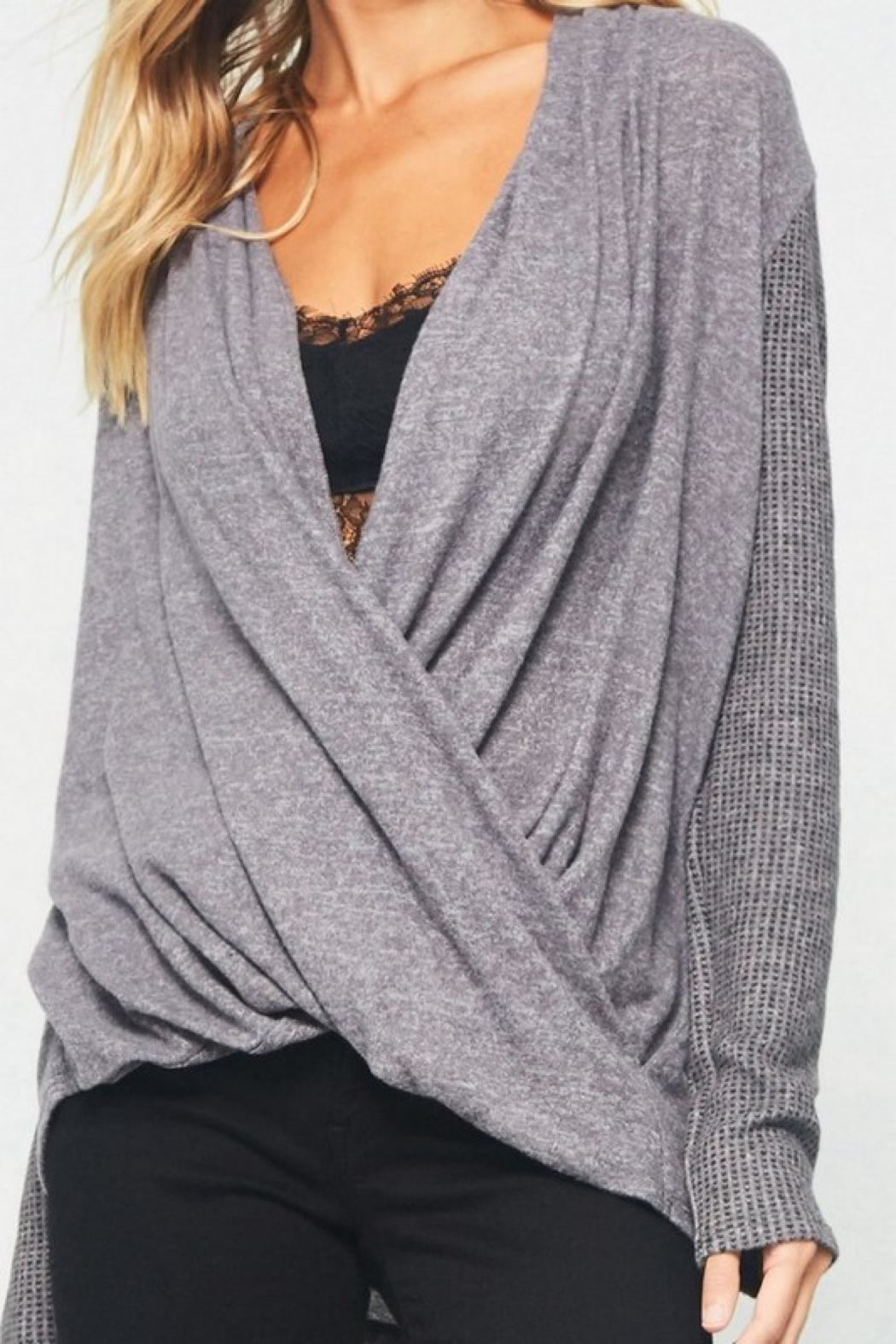 LuLu's Boutique Crossover Top - Side Cropped Image