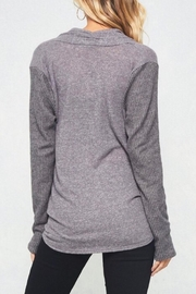 LuLu's Boutique Crossover Top - Back cropped