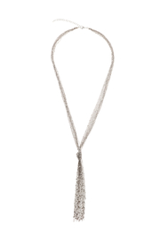 Crossroads Silver Knot Necklace - Product Mini Image