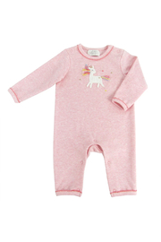 Albetta Crotchet Unicorn  Star Babygro Romper - Product Mini Image