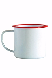 Crow Canyon Red Rim Mug - Product Mini Image