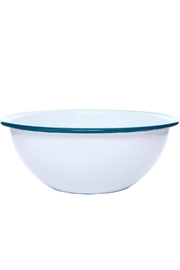 Crow Canyon Enamel Cereal Bowl - Front cropped