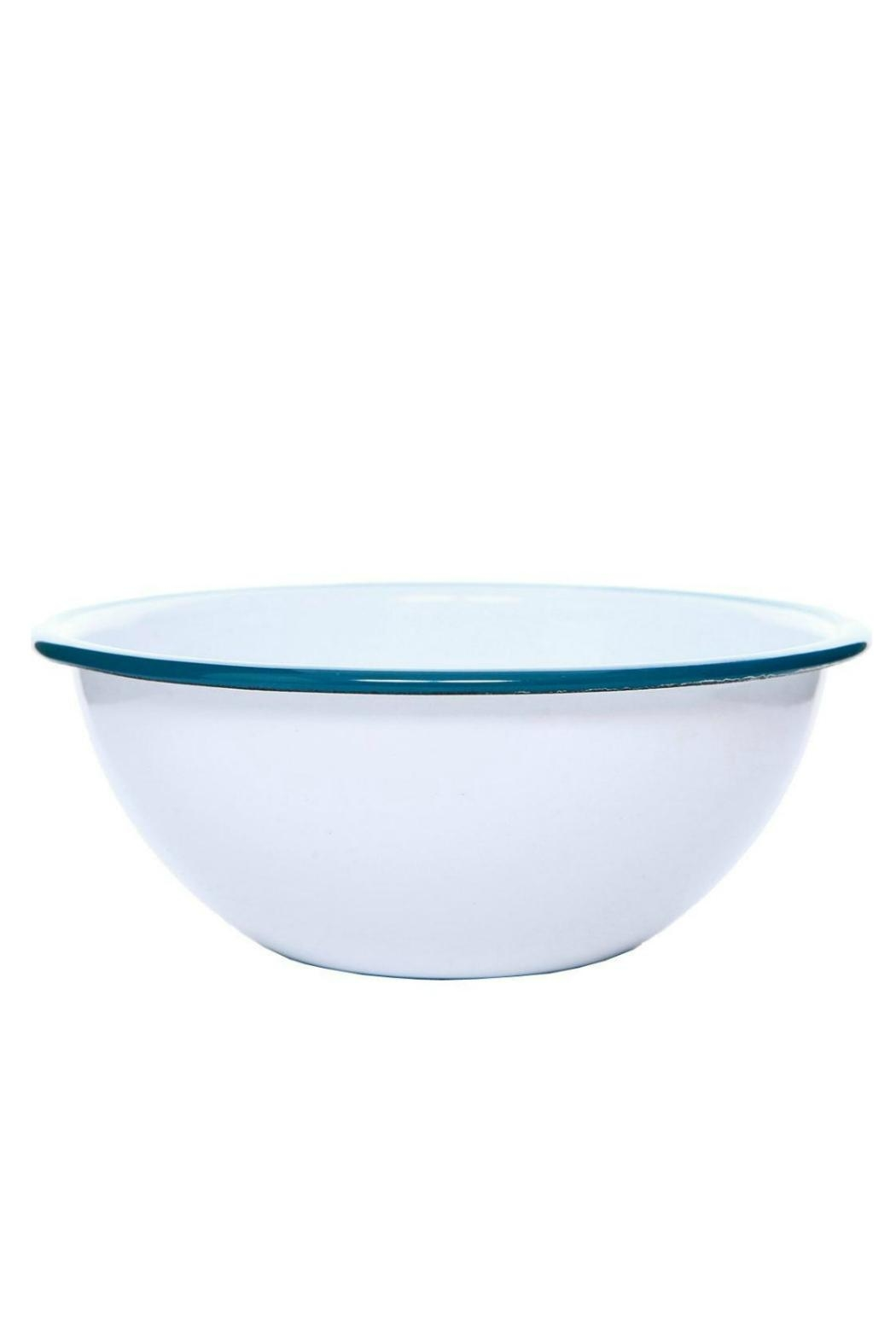 Crow Canyon Turquoise Serving Bowl - Main Image