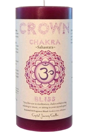 Crystal Journey Candles Crown Chakra Candle - Product Mini Image
