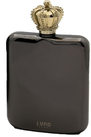 Lund London Crown Flask Gunmetal - Product Mini Image