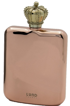 Lund London Crown Flask Rose Gold - Product List Image