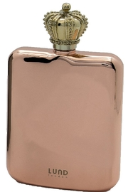 Lund London Crown Flask Rose Gold - Product Mini Image