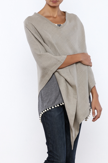 Crown Linen Designs Linen Poncho From Louisiana By The