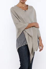 Crown Linen Designs Linen Poncho - Product Mini Image