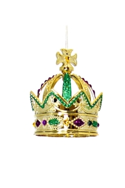 Mardi Gras Collection Crown Ornament Mg - Product Mini Image