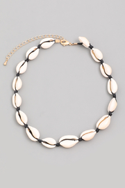 R+D  Crowrie Shell Choker - Product Mini Image