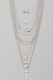 Minx Cruces Layered Necklace - Product Mini Image