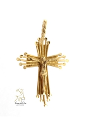 CDO  Crucifx Gold Pendant - Product Mini Image