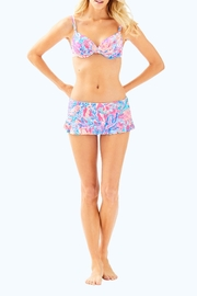 Lilly Pulitzer Cruise Skirted Bikini-Bottom - Side cropped