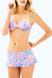 Lilly Pulitzer Cruise Skirted Bikini-Bottom - Front cropped