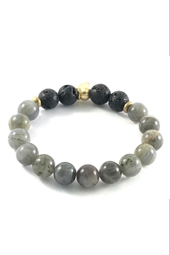 Crunchy Diva Designs 10mm Stone Bracelet - Alternate List Image