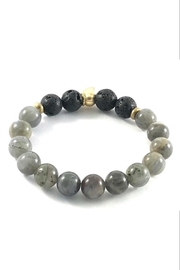 Crunchy Diva Designs 10mm Stone Bracelet - Product Mini Image