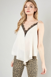 Mustard Seed CRUSH CAMI - Front cropped