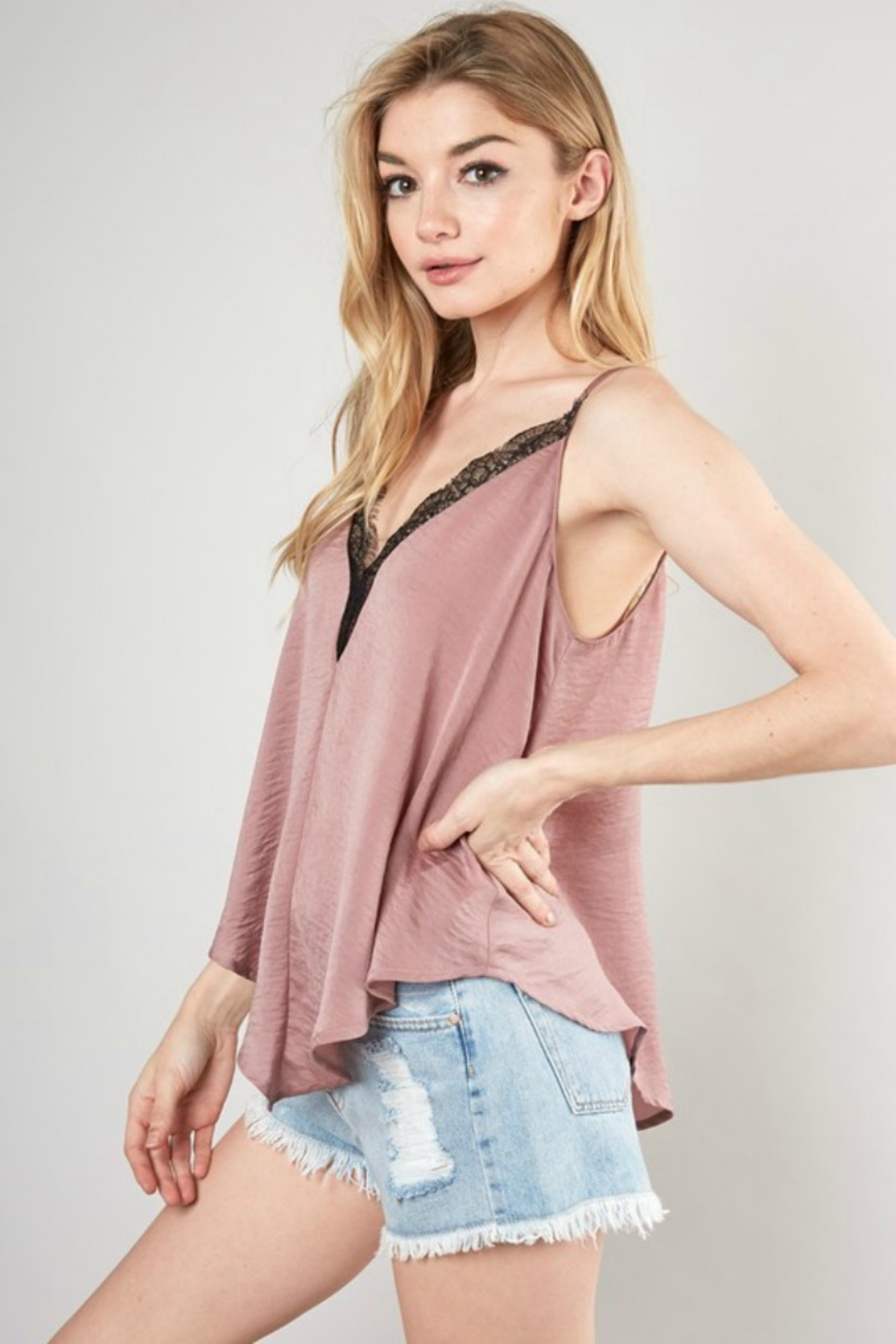 Mustard Seed CRUSH CAMI - Front Full Image