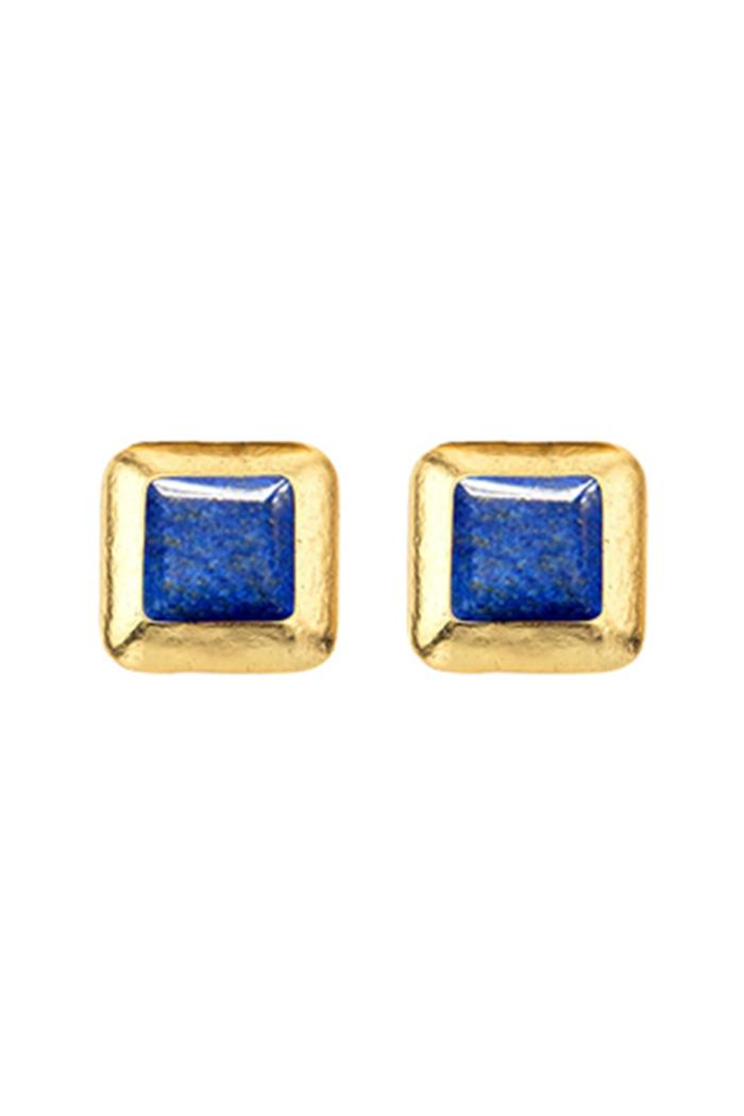 Stephanie Kantis Crush Square Earring - Front Cropped Image