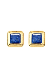 Stephanie Kantis Crush Square Earring - Product Mini Image
