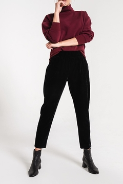 Shoptiques Product: Crushed Velour Trouser