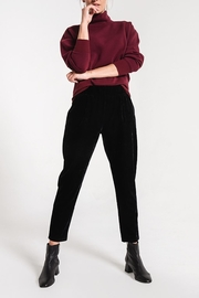 z supply Crushed Velour Trouser - Front cropped