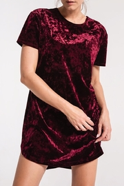 z supply Crushed Velvet Dress - Product Mini Image