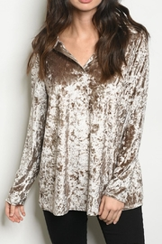 MTS Crushed Velvet Top - Product Mini Image