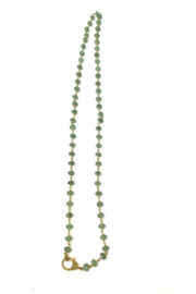 The Woods Fine Jewelry  Crysooclla Long Necklace - Product Mini Image