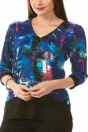 Crystal Abstract Layered Top - Product Mini Image