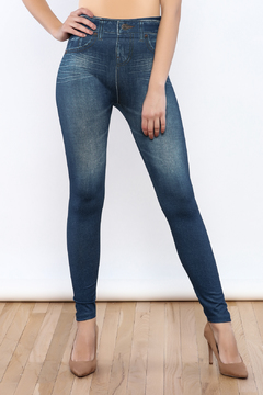 Shoptiques Product: Denim Print Leggings