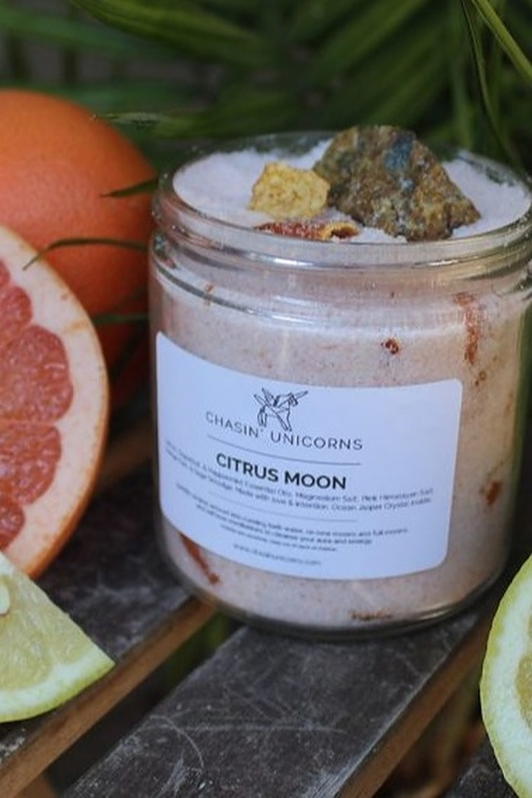 Chasin' Unicorns Crystal Bath Salts Citrus Moon - Main Image