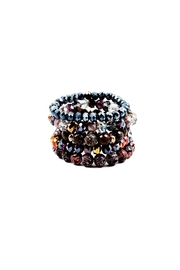 Lets Accessorize Crystal Bead Stack - Product Mini Image
