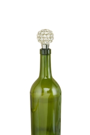 Two's Company Crystal Bottle Stopper - Product Mini Image