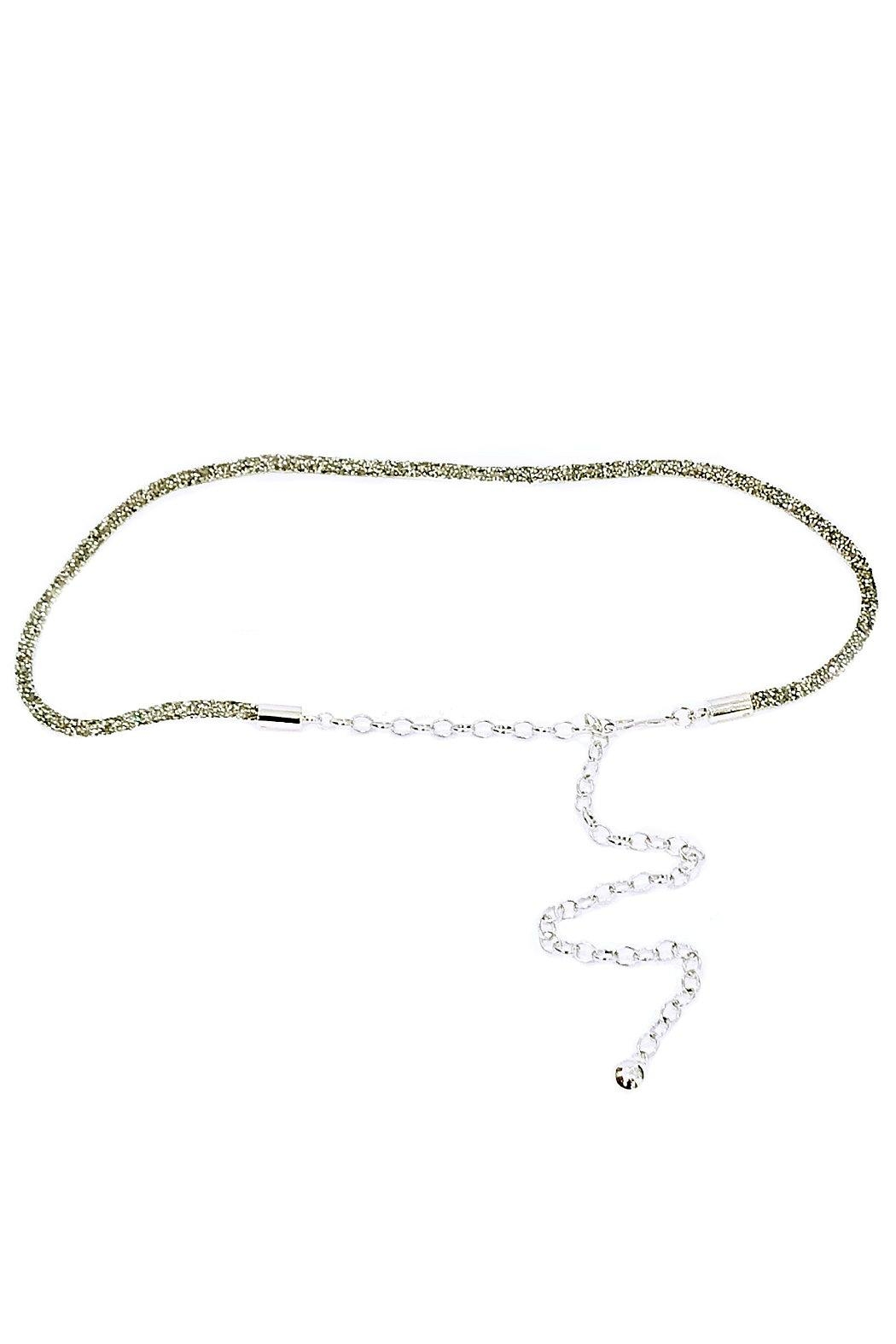 ANTONELLO SERIO Crystal Chain Belt - Main Image