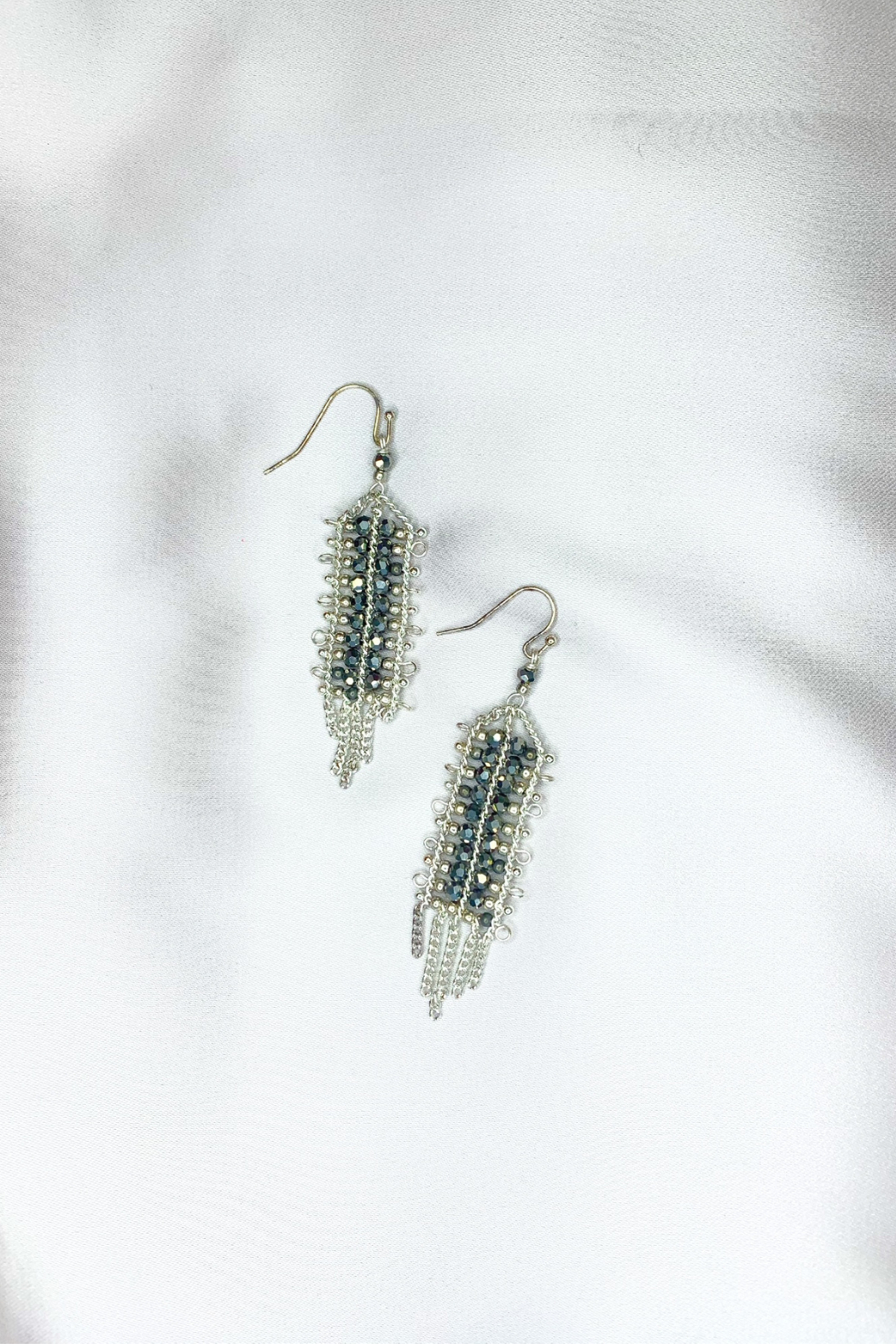 Nakamol  Crystal Chandelier Earrings - Front Cropped Image