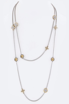 Shoptiques Product: Crystal Charms Necklace