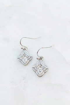 Wild Lilies Jewelry  Crystal Clover Earrings - Alternate List Image