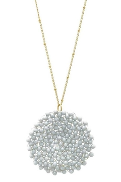 Wholesale Fashion Crystal Clustered Necklace - Product List Image