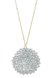 Wholesale Fashion Crystal Clustered Necklace - Product Mini Image