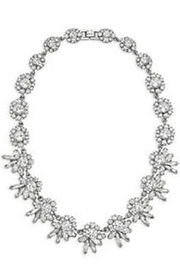 C+I Crystal Collar Necklace - Product Mini Image
