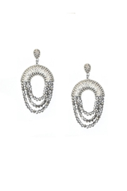 Marlyn Schiff Crystal Drape Earring - Product Mini Image