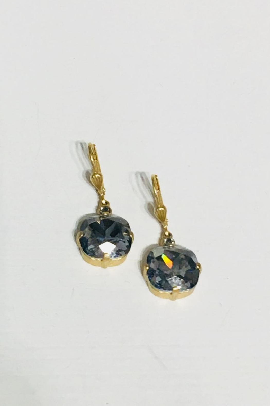 La Vie Parisienne Crystal Drop Earrings - Main Image