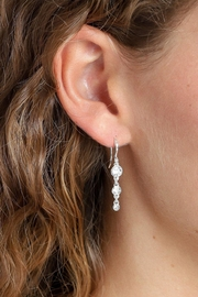 Pilgrim Crystal Drop Earrings - Product Mini Image