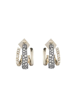Shoptiques Product: Crystal Encrusted Earring