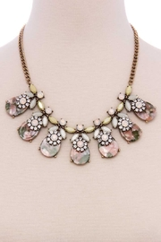 Nadya's Closet Crystal Fashion Necklace - Product Mini Image
