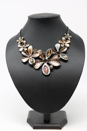 Nadya's Closet Crystal Flower Neck-Set - Product Mini Image
